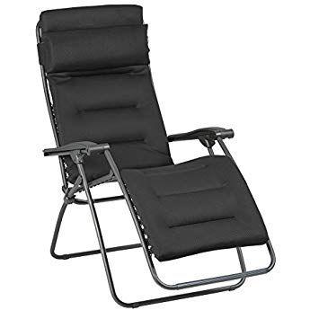 Lafuma Relax Liegestuhl Klappbar Und Verstellbar Rsx Clip Air Comfort Acier Anthrazit Lfm2038 8718 Relaxstuhl Relaxliege Relaxsessel