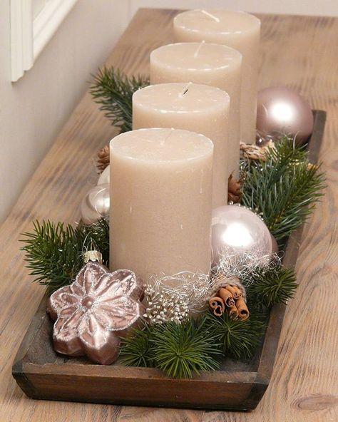 Das Lasst Die Vorfreude Auf Weihnachten Grosser Werden Kerzen