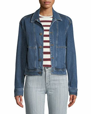 d96a9148ce8979 Parker Smith Designer Denim Utility Jacket | Clothing > Coats ...