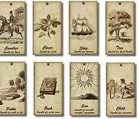 picture relating to Free Printable Tarot Cards known as Pinterest