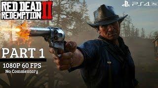 Red Dead Redemption 2 Gameplay Walkthrough Part 1 Chapter 1 Ps4 Pro Red Dead Redemption Ps4 Pro Redemption