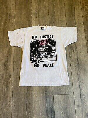 Vintage Rodney King 90 S T Shirt Size Large No Justice No Peace La Pd Guilty Ebay Tupac T Shirt Shirt Size Shirts