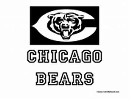 Image Result For Chicago Bears Logo Stencil Board Deco