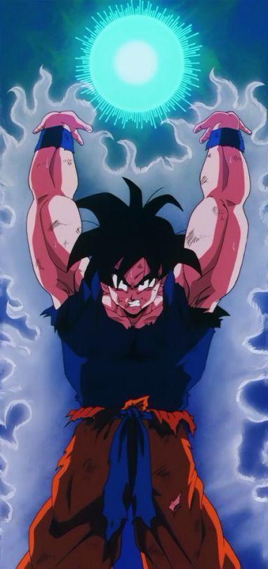 Goku Hace La Genkidama Personajes De Dragon Ball Dragones Arte De Anime