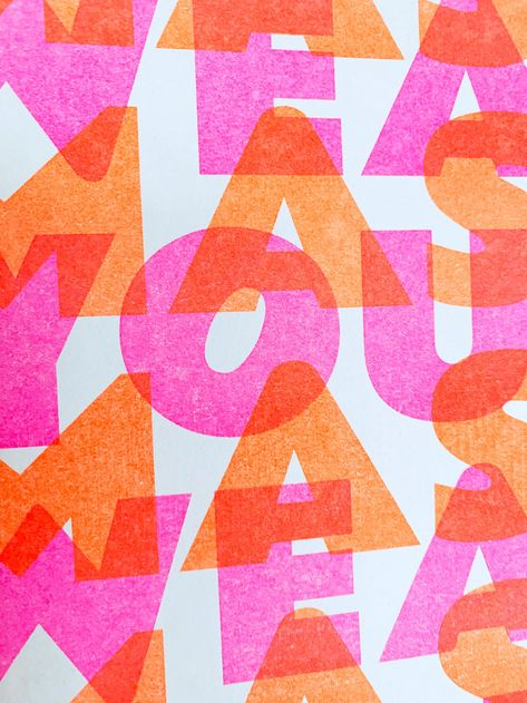 """""""Wear Your Mask"""" - Store Sign Risograph Print"""