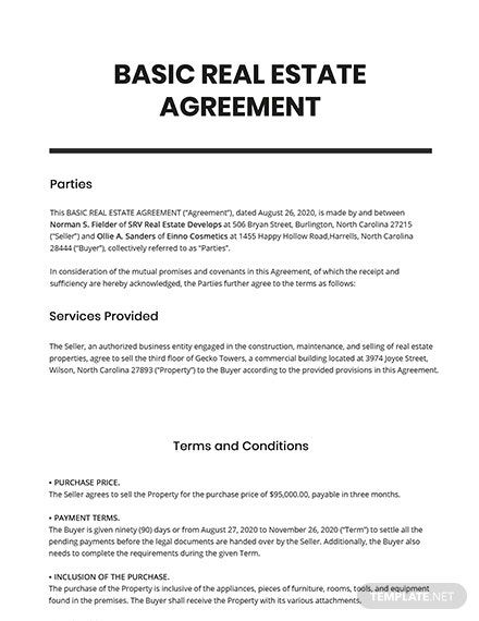 25 Free Residential Agreement Templates Edit Download Template Net Agreement Grant Writing Templates