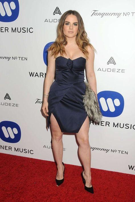 Joanna JoJo Levesque Posing Blue Dress 8x10 Photo Print