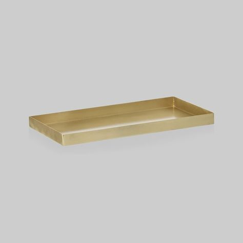 Elegant contemporary serving tray