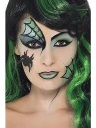 Witch horror and halloweenface paint ideas how to face paint halloween witch makeup ccuart Images