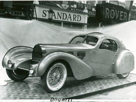 1935 bugatti aerolithe coupe type 57 bugatti pinterest