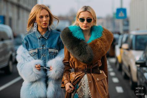 fdaac7383507 Shea Marie and Caroline Vreeland by STYLEDUMONDE Street Style Fashion  Photography FW18 20180224 48A0661