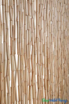 Wooden Bead Curtain Molokai Natural 35 X 78 80 Strands Super Thick Beaded Curtains Bamboo Beaded Curtains Beaded Curtains Doorway