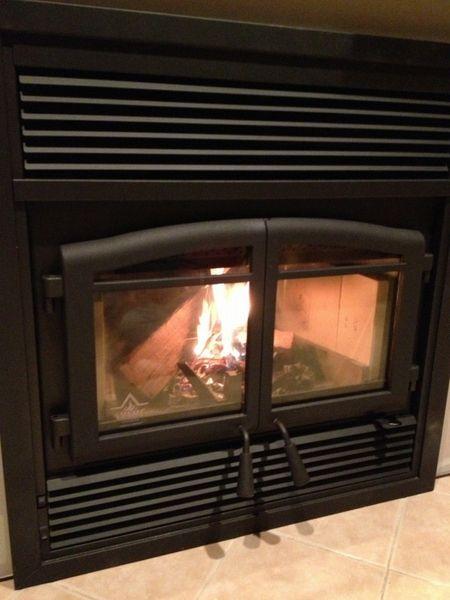 Flame Monaco Xtd Epa Zero Clearance Wood Burning Fireplace Wood
