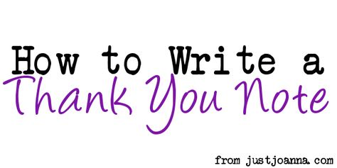 Writing a thank you note is one of those dying art forms of etiquette that really should be revived!