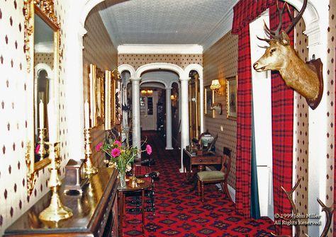 Una de las pocas fotografías al interior de Boleskine House.