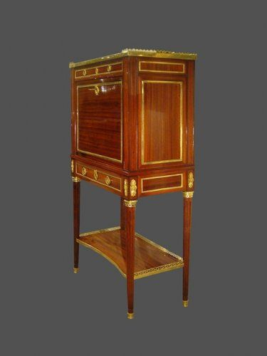 Secretaire En Cabinet D Epoque Louis Xvi Xviiie Siecle N 13291 Mobilier De France Mobilier De Salon Antiquites Francaises