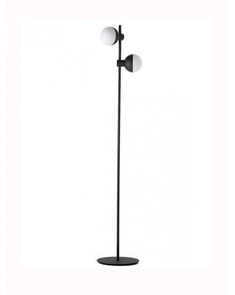 Fabian Floor Lamp With 2 Spots With Images Lampy Lampa Podlogowa Podloga