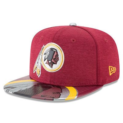 Men s New Era Burgundy Washington Redskins 2017 NFL Draft On Stage Original  Fit 9FIFTY Snapback Adjustable Hat 96318116c