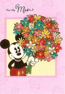 Pin By Jodi Koppein On Mom Gifts Disney Birthday Card Happy Birthday Mickey Mouse Birthday Cards For Mom