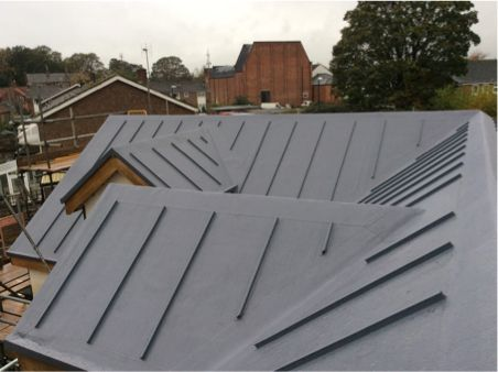 Iko Armourplan Psg Slate Grey Flat Roof Roofing Systems Roof