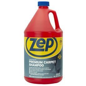 Zep Commercial Premium Carpet Shampoo Concentrate 128 Oz Carpet Cleaner At Lowes Com Carpet Shampoo Carpet Cleaners How To Clean Carpet