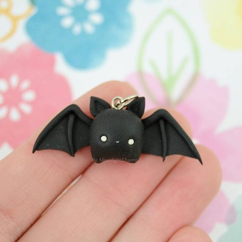 Kawaii Charms Polymer Clay Bat Idee Fimo Pinterest Fimo