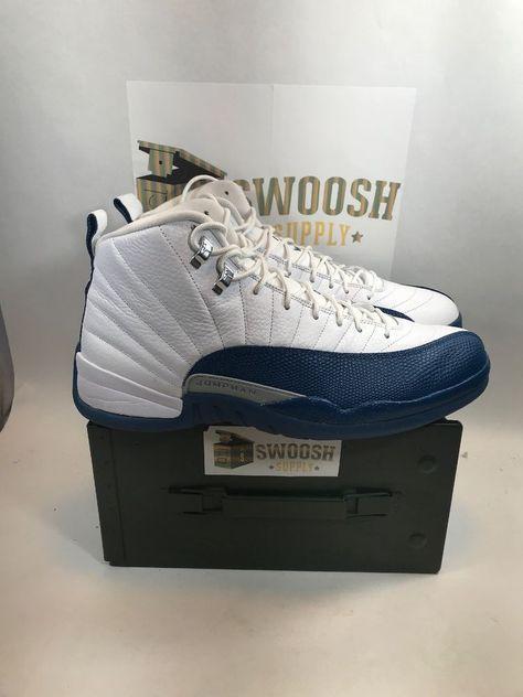 official photos 100ff 38666 2016 Nike Air Jordan 12 XII Retro French Blue Size 14 130690-113 W   Original Box  Nike  Nike