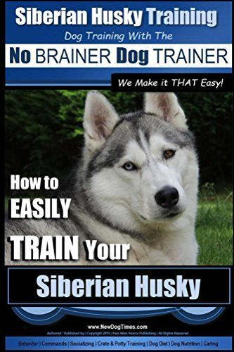 Siberian Husky Training Dog Training With The No Brainer Dog