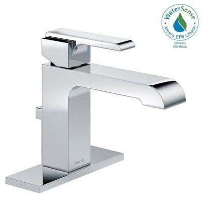 Delta Pivotal Single Hole Single Handle Bathroom Faucet In Chrome