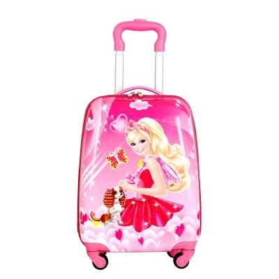 Brand hello kitty cartoon 18 inch students Travel trolley case children Boarding box anime girl luggage child rolling suitcase