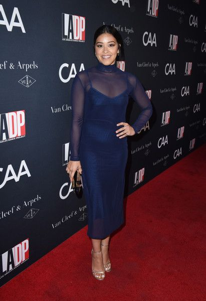 Actress Gina Rodriguez attends the 2017 Los Angeles Dance Project Gala.