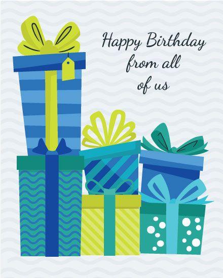 Groupgreeting Birthday Card Birthday Cards Cards Office Birthday