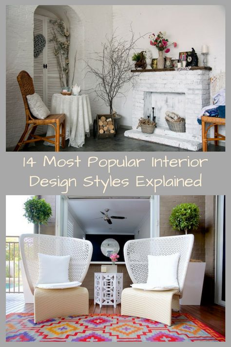 Learn About The Different Styles Of Decor Before You Start