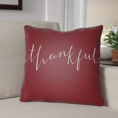 The Holiday Aisle Thankful Indoor/Outdoor Throw Pillow | Wayfair The Holiday Aisle Thankful Indoor/Outdoor Throw Pillow The Holiday Aisle  #Holiday #Aisle #Thankful #Indoor/Outdoor #Throw