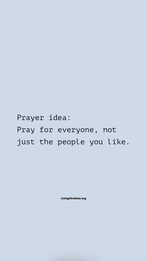 Prayer Tips