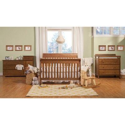 Davinci Kalani 4 In 1 Convertible Crib Chestnut Cribs