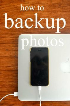 To Stay Organized- These are awesome tips for backing up photos and even computer files!
