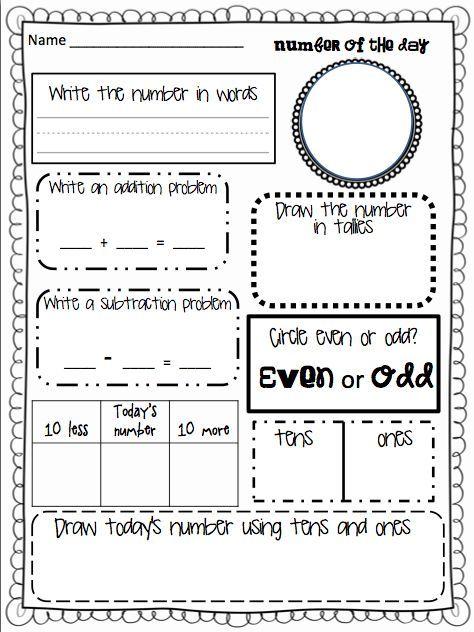 Classroom Treasures: Numeracy | beginning of school | Pinterest ...