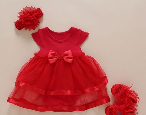 1078c48774d8 Big Discount New Born Baby Girls Infant Dress clothes Summer Kids ...