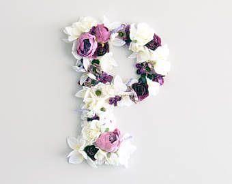 Kwiatowe Listow Baby Room List Monogram Przedszkola Etsy Paper Flower Letters Floral Letters Letter Nursery Decor