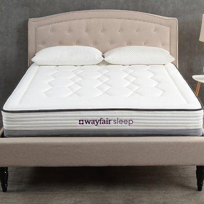 Wayfair Sleep Sleep 9 Firm Hybrid Mattress Size California King