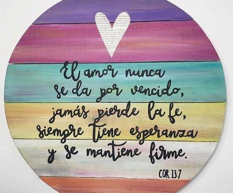 El Amor Nunca Deja De Ser💕💑