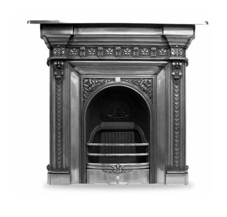 Carron Melrose Cast Iron Combination Fireplace In 2020 Cast Iron