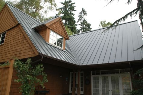 Design Span Hp Dormers Location Pacific Northwest Products Design Span Hp Color Zactique Ii Application Roof Photo Cre Metal Roof Metal Siding Roof Siding