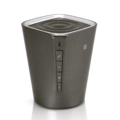 Blackweb Soundstone Portable Wireless Speaker Grey