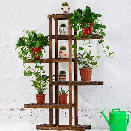 Home Pots De Fleurs Decores Support Plante Boites Jardinage