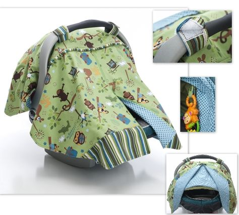 Wyatt Car Seat Canopy Cover