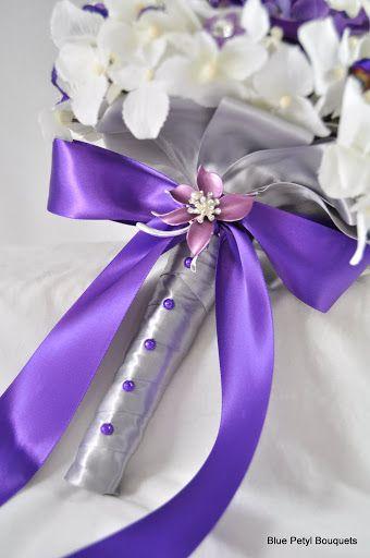 Anemone Hydrangea Brooch Bouquet by Blue Petyl Bouquets #bridal #bouquet