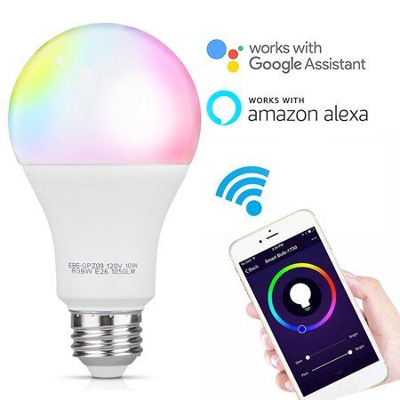 Color Changing Light Bulb Smart