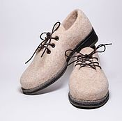 850ce9658794d Валяные туфли - купить или заказать в интернет-магазине на Ярмарке Мастеров  | Валяные легкие туфли из шерсти ручной работы. <br…